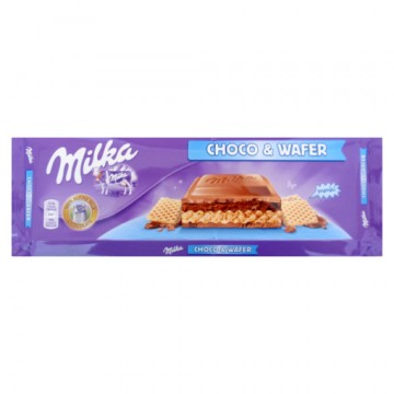 Шоколад Milka Choco & Wafer (300 г)