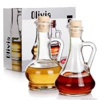 Набор емкостей для масла и уксуса Pasabahce Olivia (0,25 л, 2 шт.)