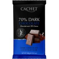 Премиум шоколад Cachet 70% Dark Chocolate, 300г