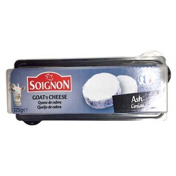 Сыр козий в пепле ТМ Soignon (125 г)