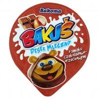 Молочный шоколадно-ореховый десерт ТМ Bakoma (80 г)