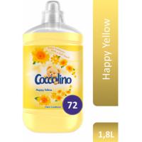 Кондиционер для белья Coccolino Happy Yellow, 1,8 л