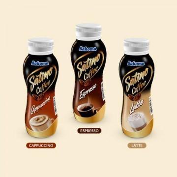 """Молочно-кофейный напиток """"Эспрессо"""" ТМ Bakoma (240 г)"""