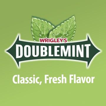 Жевательная резинка Wrigleys Doublemint (14 г)