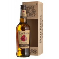 Виски Four Roses (0,7 л) in wooden box