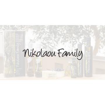 Премиальное греческое оливковое масло не фильтрованное Agurelio Extra Virgin Nikolaou Family (500 мл)