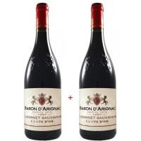 Набор Baron d'Arignac Cabernet Sauvignon IGP (0,75 л) + Cabernet Sauvignon IGP (0,75 л)