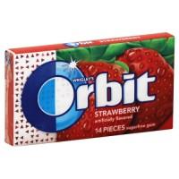 Жевательная резинка Orbit Strawberry (14 г)