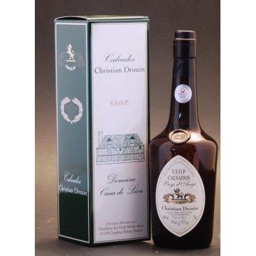 Кальвадос Christian Drouin Pale&Dry VSOP, gift box (0,7 л)