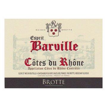 Вино Brotte S.A. Cotes du Rhone Esprit Barville (0,75 л)
