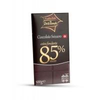 Шоколад черный Dolciando Cioccolato Svizzero Extra Fondente, 85% (100 г)