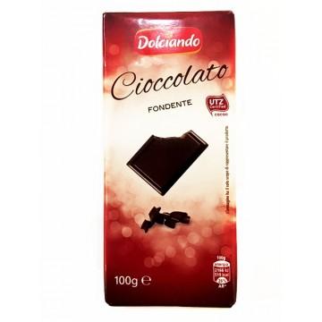 Шоколад черный Dolciando Cioccolato Fondente, 50% (100 г)