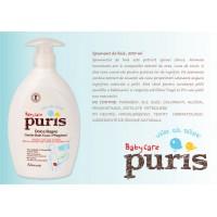 Пена для ванны c экстрактом ромашки и алоэ вера Baby Care Puris, 250 мл
