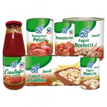 Фасоль консервированная Canellini NOI&VOI (125 г)