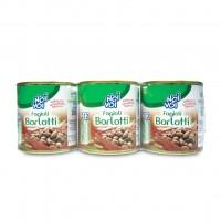 Фасоль консервированная Borlotti NOI&VOI (125 г)