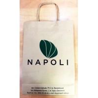 Пакет бумажный Napoli, средний