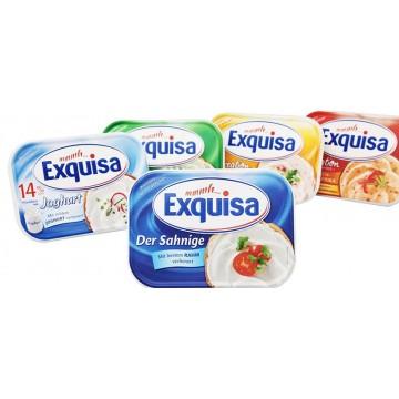 Сыр сливочный ТМ Exquisa Fitline 0.2% (200 г)
