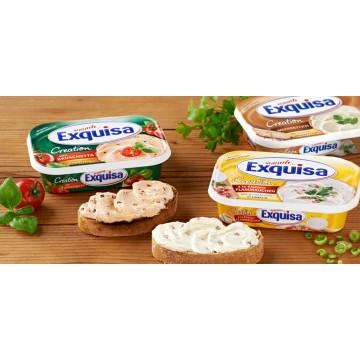 Сыр сливочный с хреном ТМ Exquisa 64% (200 г)