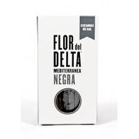 Средиземноморская соль черная Fior del Delta, 125 г