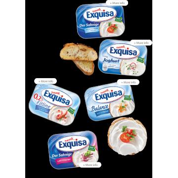 Сыр сливочный Exquisa классический 70% (200 гр)