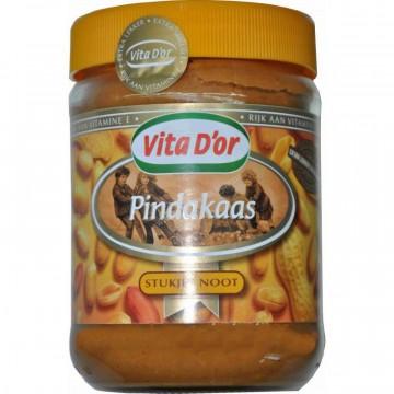 Арахисовая паста Vita D'or Pindakaas (600 г)