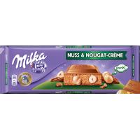 Шоколад Milka Nuss & Nougat Creme (300 г)