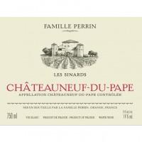 Вино Perrin et Fils Chateauneuf-du-Pape Les Sinards, 2017 (0,75 л)
