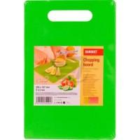 Дошка пластикова Plastia Colore, зеленая (28,5x18,7 см)