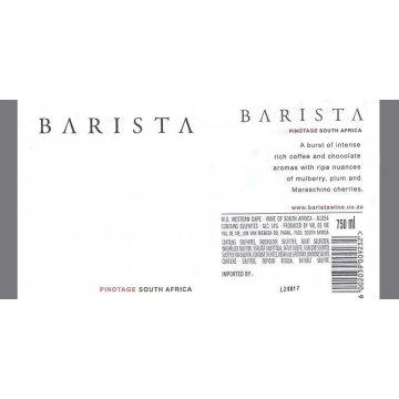 Вино Barista Pinotage Val De Vie (0,75 л)