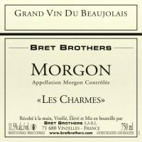 Вино Bret Brothers Morgon Les Charmes, 2017 (0,75 л)
