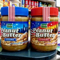 Арахисовая паста Gina Peanut Butter Crunchy (350 г)