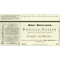 Вино Bret Brothers Pouilly-Fuisse Climat La Roche, 2016 (0,75 л)