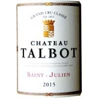 Вино Chateau Talbot, 2015 (0,75 л)