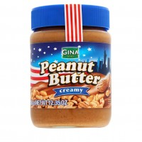 Арахисовая паста Gina Peanut Butter Creamy (350 г)