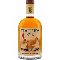 Виски Templeton Rye Signature Reserve 4 Years Old (0,7 л)