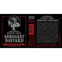 Пиво Arrogant Bastard Ale (0,5 л) ж/б