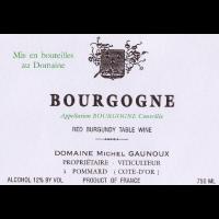 Вино Domaine Michel Gaunoux Bourgogne, 2017 (0,75 л)