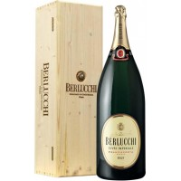 Шампанское Guido Berlucchi Cuvee Imperiale Brut Mathusalem, wooden box (6 л)
