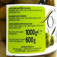 Оливки Rizzi Olive Verdi Giganti in salamoia (1000 мл)