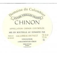 Вино Domaine du Colombier Chinon, 2017 (0,75 л)