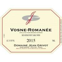 Вино Jean Grivot Vosne-Romanee, 2015 (0,75 л)