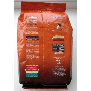 Кофе Lavazza Crema e Gusto Forte, 1 кг (В зернах)