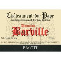 Вино Brotte Chateauneuf-du-Pape Domaine Barville, 2016 (0,75 л)