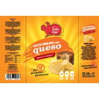 Чипсы картофельные с сыром Gallo Rojo (40 г)