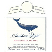 Вино Southern Right Sauvignon Blanc, 2018 (0,75 л)