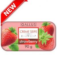 Мыло Gallus Creme Seife Strawberry, 90 г