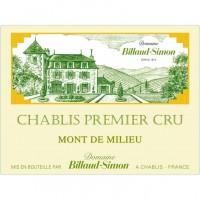 Вино Billaud-Simon Chablis Premier Cru Mont de Milieu, 2017 (0,75 л)