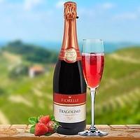 Напиток на основе вина Fiorelli Fragolino Rosso, (0.75 л)