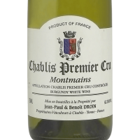 Вино Droin Chablis Premier Cru Montmains, 2017 (0,75 л)
