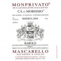 Вино Mascarello Barolo Riserva Monprivato Ca d'Morissio, 2004 (0,75 л)